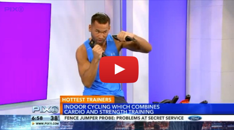 Cyc Fitness, Cyc, Keoni Hudoba, Keoni, WPIX11, Hottest Trainer, NYC's Hottest Trainer